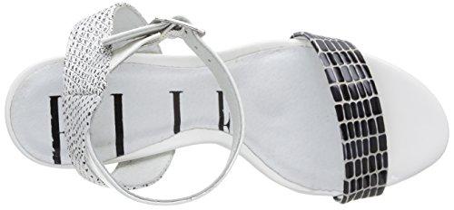 Elle Marceau - Zapatos de Vestir de material sintético mujer Blanco - blanco