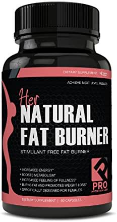 Her Natural Fat Burners for Women - Stimulant Free Fat Burner Designed for Weight Loss