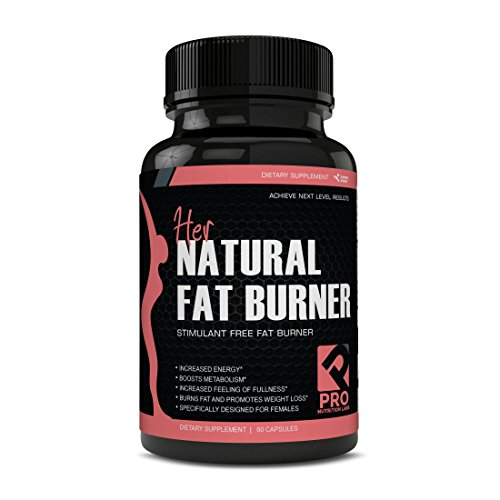 Her Natural Fat Burners for Women - Stimulant Free Fat Burner Designed for Weight Loss (Best Non Stim Fat Burner)