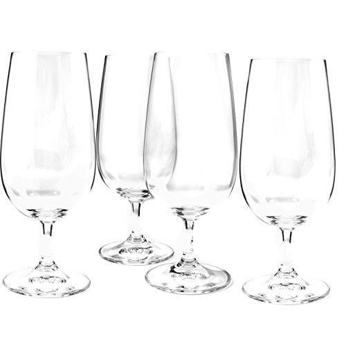 Stemmed Pilsner Glass (Nachtmann Vivendi Stemmed Pilsner Glass, Set of 4)