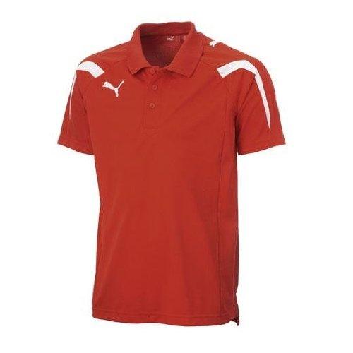Puma Powercat Polo Shirt (red) B00362MUWARed Small Adults