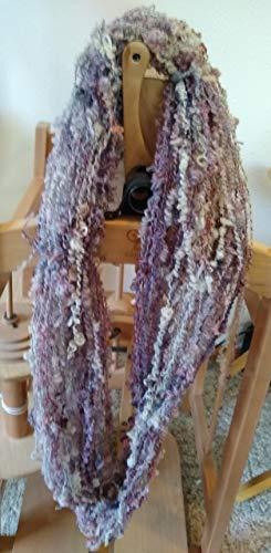 Handspun art yarn Boucle spun wool 1 skeins-102 yds