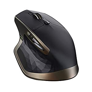 Logitech MX Master Wireless Mouse – Use on Any Surface, Ergonomic Shape, Hyper-Fast Scrolling, Rechargeable, for Apple…