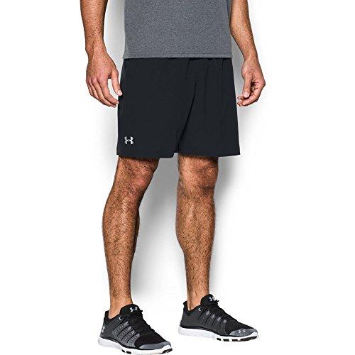 Under Armour Men's Storm Vortex Shorts, Black (001)/Black, Large