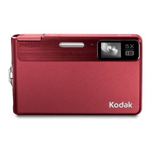 (Kodak EasyShare M590 Digital Camera - Red)