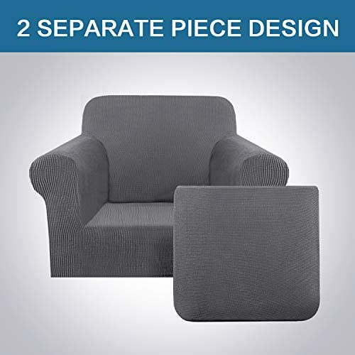 home, kitchen, home décor, slipcovers,  sofa slipcovers 4 discount H.VERSAILTEX Chair Covers 2 Pieces Arm Chair promotion