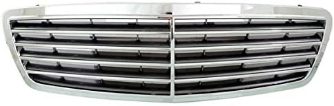 New Grille Trim Grill Front Passenger Right Side Chrome for Mercedes S Class RH