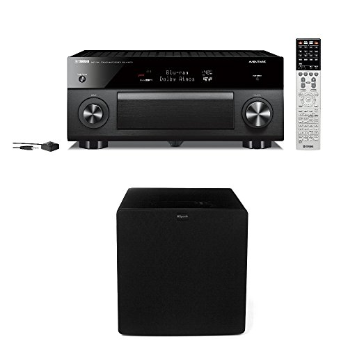 Yamaha RX-A3070 9.2 Channel A/V Receiver Bundled with (1) Klipsch SW-311 Subwoofer by Yamaha/Klipsch