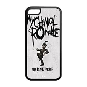 ROBIN YAM Hard Flexible Rubber Cover Case for iPhone 5C, My Chemical Romance -CRY81