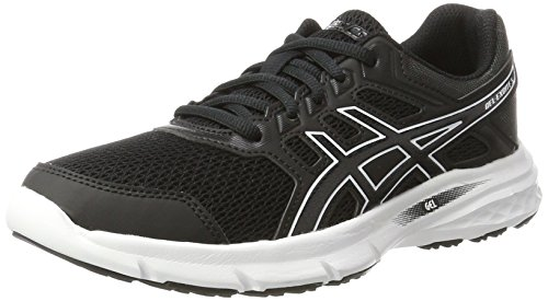 5 White Shoes Gel Women's Black Black Asics Running Excite Multicolor zxB4ZAq
