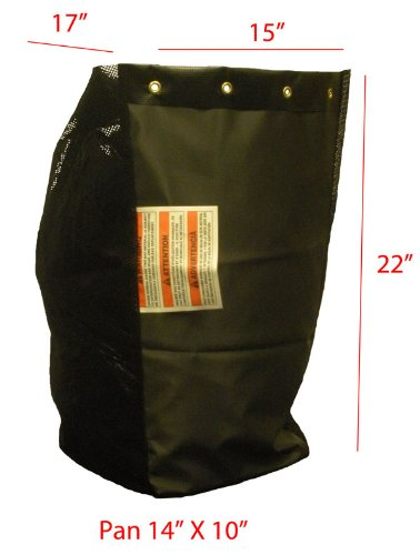 MTD Rear Rider (Triple) Replacement Grass Bag. Bag ONLY - Price is per Single Bag