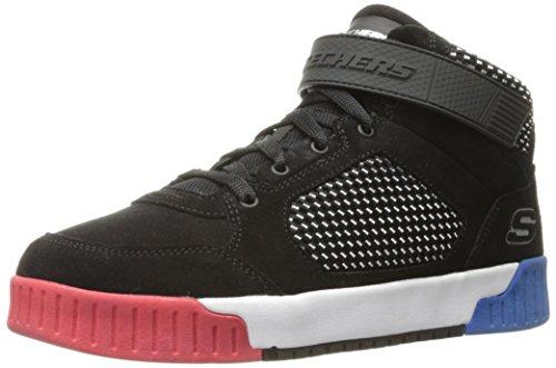 Skechers Kids Boys' Adapters Sneaker,Black,1 M US Little Kid