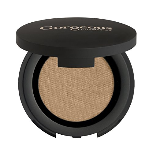 Gorgeous Cosmetics Colour Pro Eyeshadow, Pressed Powder, High Pigment Eyeshadow, Single in Compact with Mirror,  Shade Toffee Shine