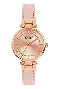 Colours by Kate Women's Orange Dial Synthetic Band Watch - CK-642R-25