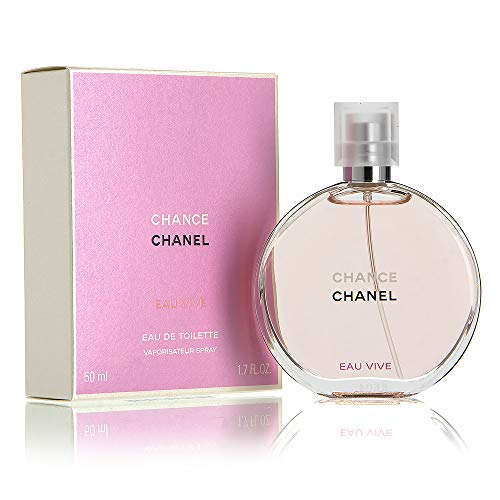 ChàNèl Chánce Eau Vive Eau de Toilette Women Spray 1.7 OZ./ 50 ml. (Bleu De Chanel Eau De Toilette Spray 50ml)