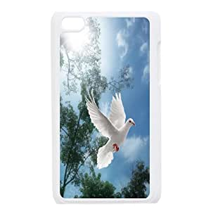 [H-DIY CASE] FOR IPod Touch 4th -White Dove,Holy Spirit-Love Peace-CASE-6