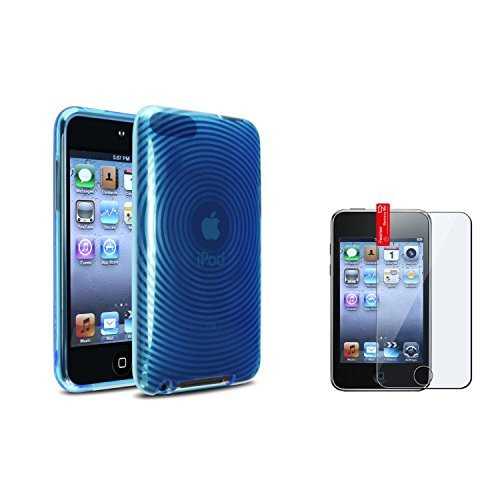 - Everydaysource? Blue Skin CASE Cover Accessory Compatible with Apple? iPod?i Touch 3G 3rd Gen+LCD Film Guard