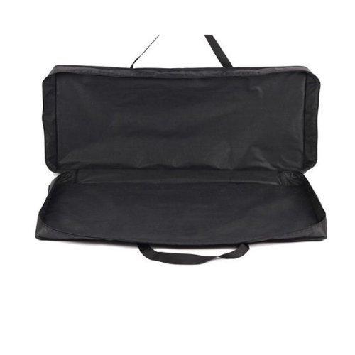 Water & Wood New 61 Key Electronic Music Keyboard Bag Case Protable Black