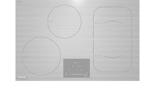Miele KM 6349 hobs - Placa (Integrado, Inducción, Vidrio y ...