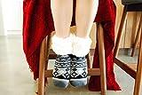 Pudus Classic Slipper Socks, Adult Geometric