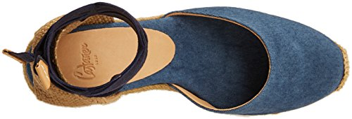 low price cheap online cheap sale free shipping Castañer Women's Carina 8 313 Espadrilles Blue (Jeans 308) footlocker pictures for sale xIHNoPg