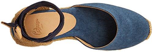 Castañer Carina8ss18002, Espadrillas Donna Blu (Jeans)