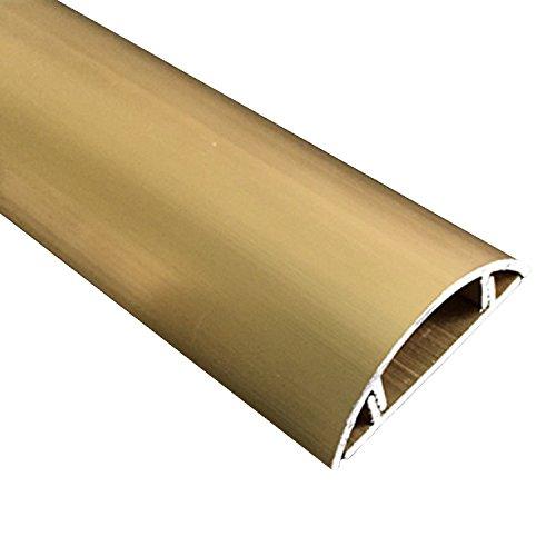 Mr.Garden Cordline Aluminum alloy channel CordMate Kit, Gold color 3.28ft Length x 1.3mm Thickness 1 pack