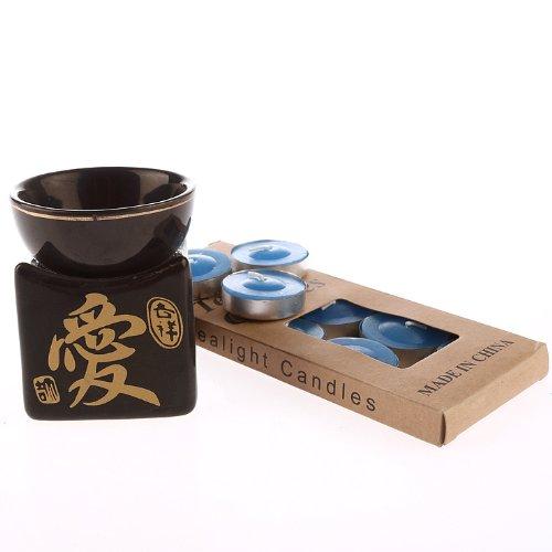 Brule Parfum - Idéogramme Chinois Amour - Avec 10 bougies offertes Lachineuse