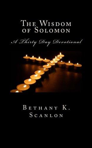 Read Online The Wisdom of Solomon: Thirty Day Devotional pdf epub