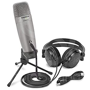 Samson C01U Pro Recording Pack with USB Studi...