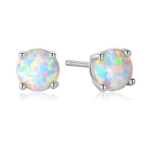 8 Mm Stud Earrings - 4