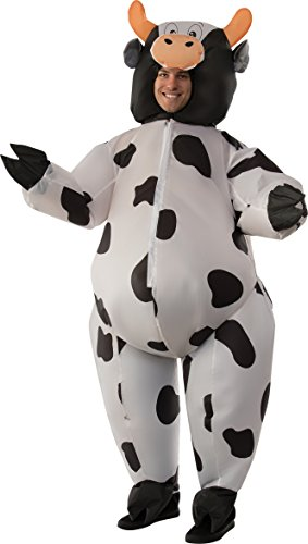 Inflatable Costumes Cow (Rubie's Men's Cow, As Shown, Standard)