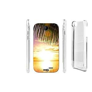 FUNDA CARCASA PALMA SUNSET PARA HTC DESIRE 310