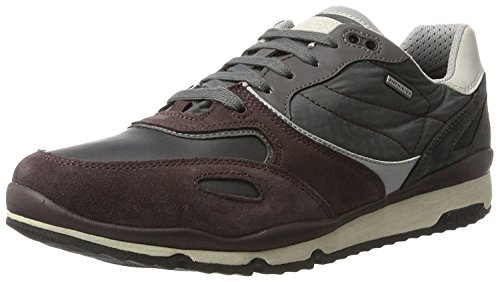Geox Men's U Sandford B ABX a Low-Top Sneakers Multicolour jZlWz