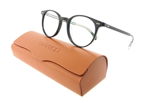 Oliver Peoples Eyeglasses DelRay 1492 Black Acetate - Case Glasses Peoples Oliver