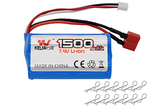 KELIWOW 1500mAH Rechargeable Lithium Battery product image