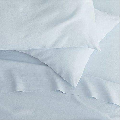 (Belledorm 200 Thread Count Cotton Percale Extra Deep Fitted Sheet (King) (Pale Blue))