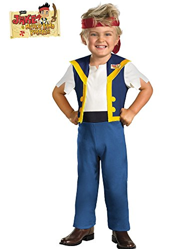 Disney Jake And The Neverland Pirates Jake Classic Costume, Large (Izzy Jake And The Neverland Pirates Coloring Pages)