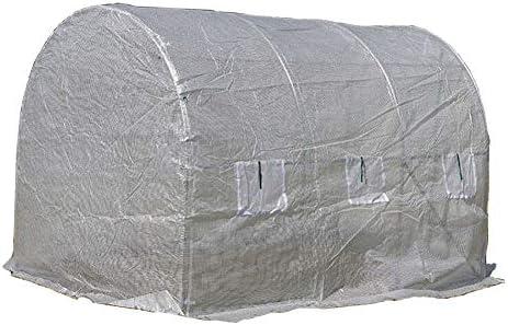 温室 ホワイトラージアウトドアポリトンネルガーデン ウォークインパティオ温室、 ポータブル温室ウォームハウスガーデン