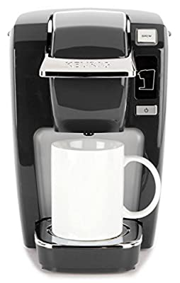 Keurig K15 Single Serve Compact K-Cup Pod Coffee Maker, Black from Keurig