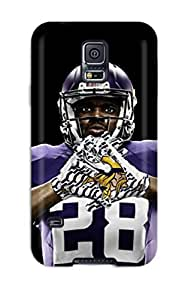 Forever Collectibles Adrian Peterson Football Hard Snap-on Galaxy S5 Case