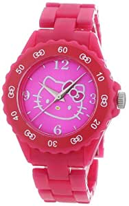 Hello Kitty 25328 - Reloj para niñas de cuarzo, correa de plástico color varios colores