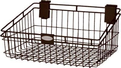 Suncast #MB1218B 12x18 Black Metal Basket