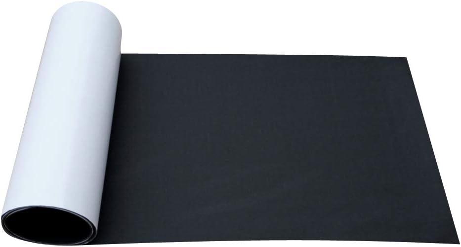 F Fityle Etiqueta Engomada Estera de Piso de Teca Alfombrilla de Suelo para Barco Tablas de Surf Canoa