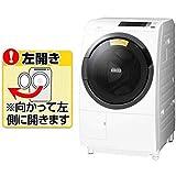 日立 10.0kg ドラム式洗濯乾燥機【左開き】ホワイトHITACHI BD-SG100CL-W