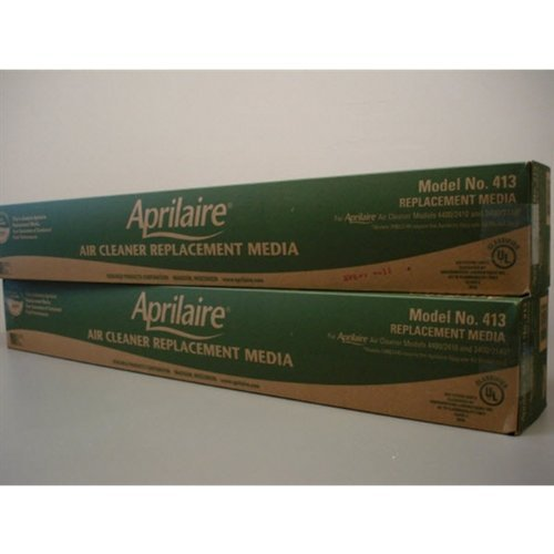 aprilaire 413 furnace filter (2 pack) (b009a0zhmw) |  price ...