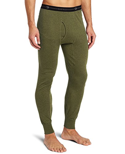 Duofold KMO3 Men's Mid Weight Double Layer Thermal Pant XX-Large Olive Heather