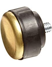 NUPLA 15161 Brass Face QC Replaceable Tip for Impax Dead Blow and Quick Change Hammers, 1.5-Inch Diameter