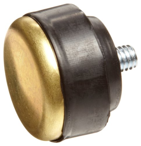 (Nupla 15161 Brass Face QC Replaceable Tip for Impax Dead Blow and Quick Change Hammers, 1.5