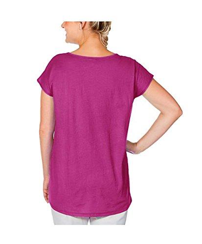 Sheego - Camisas - Opaco - para mujer Rosa